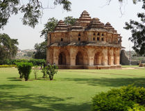 Temple at the Cacred Center of Vijayanagara Stock Photos