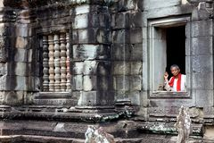 Temple Cambodge de Banteay Samre Photographie stock libre de droits