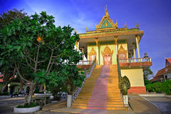Temple cambodgien photographie stock