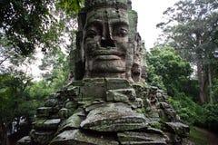 Temple cambodgien Image libre de droits