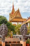 Temple cambodgien Siem Reap photographie stock