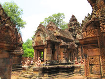 Temple in Cambodia. Stock Photo