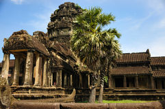 Temple in Cambodia Angkor Wat stock photography