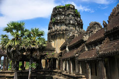 Temple in Cambodia Angkor Wat royalty free stock image