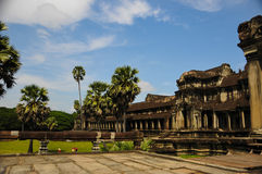 Temple in Cambodia Angkor Wat stock photo