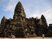 Temple in Cambodia Angkor Wat royalty free stock photography