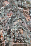 Temple on the Cambodia border. Royalty Free Stock Images