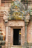 Temple, Cambodia border. Phanomrung temple on the Thailand, Cambodia border stock photos
