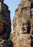 Temple_cambodia de Bayon fotografía de archivo libre de regalías