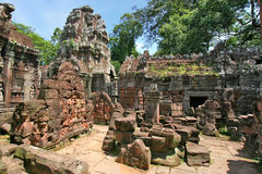 Temple Cambodia Royalty Free Stock Photography