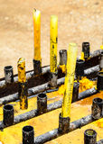 Temple Candle Stock Image
