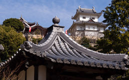 Temple and castle Royalty Free Stock Images