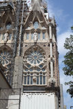 Sagrada Familia. Restauration. Image stock