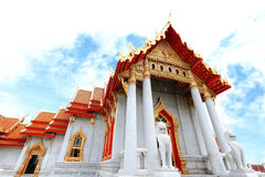 Temple in central Bangkok Royalty Free Stock Image