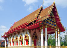Temple in Central Thailand Royalty Free Stock Images