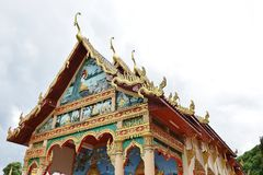 Temple in Chanthaburi, Thailand. Stock Photo