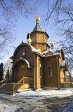 temple  chapel   mother   god derzhavnaya street volkhonka Royalty Free Stock Image