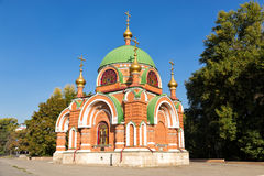 Temple-chapel of Peter and Paul in Lipetsk Royalty Free Stock Images