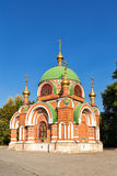 Temple-chapel of Peter and Paul in Lipetsk Royalty Free Stock Photo