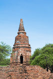 Temple & Chedi at Ayutthaya, unseen of Thailand. Impressive & amazing at Ayuthaya of Thailand royalty free stock images