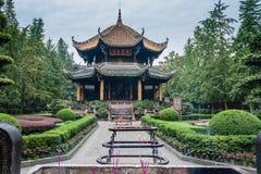 Temple Chendu de Wuhou Images libres de droits