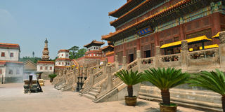 Temple in Chengde Stock Photos