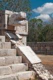 Temple chez Chichen Itza photos libres de droits