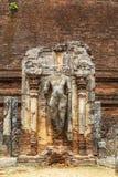 Temple chez Polonnaruwa, Sri Lanka Photo libre de droits