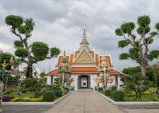 Temple chez Wat Arun, Bangkok Photos libres de droits