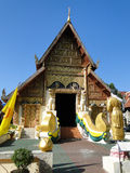 A Temple in Chian Rai. Northern Thailand Royalty Free Stock Photos