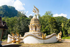 Temple in  Chiang Dao, Thailand Royalty Free Stock Photos