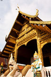 Temple in Chiang Mai Royalty Free Stock Photos