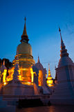 Temple in Chiang Mai Stock Images