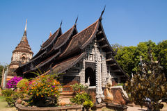 Temple in Chiang Mai. Temples in Chiang Mai, with a clear sky day Stock Image