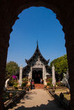 Temple in Chiang Mai. Temples in Chiang Mai, with a clear sky day Royalty Free Stock Image