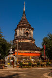 Temple in Chiang Mai. Temples in Chiang Mai, with a clear sky day Royalty Free Stock Photography