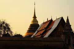 Temple. A temple in Chiang Mai, Thailand Royalty Free Stock Photo
