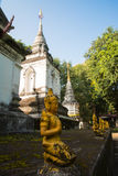 Temple in Chiang Mai, Thailand Stock Photo