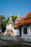 Temple in Chiang Mai, Thailand. Royalty Free Stock Photos