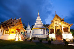 Temple in Chiang Mai, Thailand Royalty Free Stock Photography