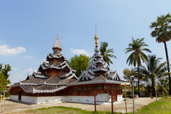Temple in Chiang Mai Royalty Free Stock Photography