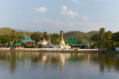 Temple in Chiang Mai a Royalty Free Stock Photos