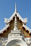 Temple in Chiang Mai. Traditional Thai temple in Chiang Mai stock images
