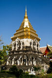 Temple in Chiang Mai. Traditional Thai temple in Chiang Mai royalty free stock images