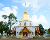 Temple in Chiang Mai. Watphadarabhirom at Mar Rim, Chiang Mai - thailand Royalty Free Stock Image