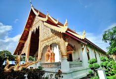Temple of chiangmai Stock Image