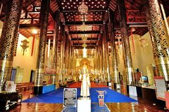 Temple of chiangmai Stock Photo