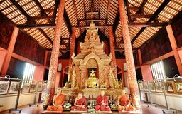 Temple of chiangmai Royalty Free Stock Image