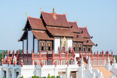 Temple. In Chiangmai at Thailand stock image