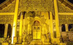 Temple in Chiangmai, Thailand Stock Photos